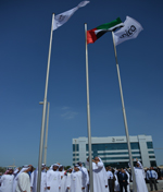 National Archives Participated in the UAE Flag Day Dr. El Reyes: We pledge loyalty to leadership and hard work to keep the flag high