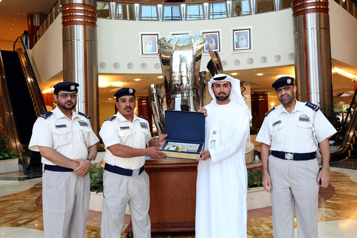 The National Archives receives Abjadiyat Zayed (Zayed's Alphabet) from Abu Dhabi Police