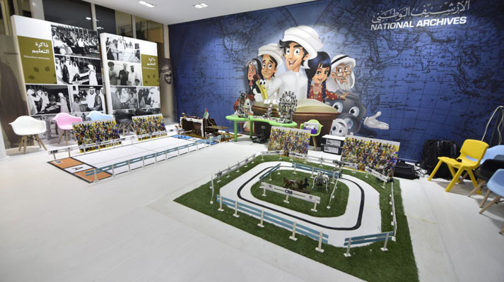 Memory of the Nation attracts visitors to innovative initiatives during Shaikh Zayed Heritage Festival