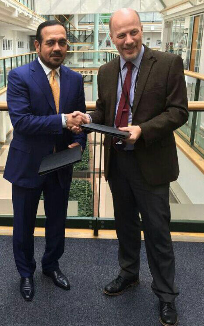 The National Archives signed a memorandum of understanding with the British National Archives