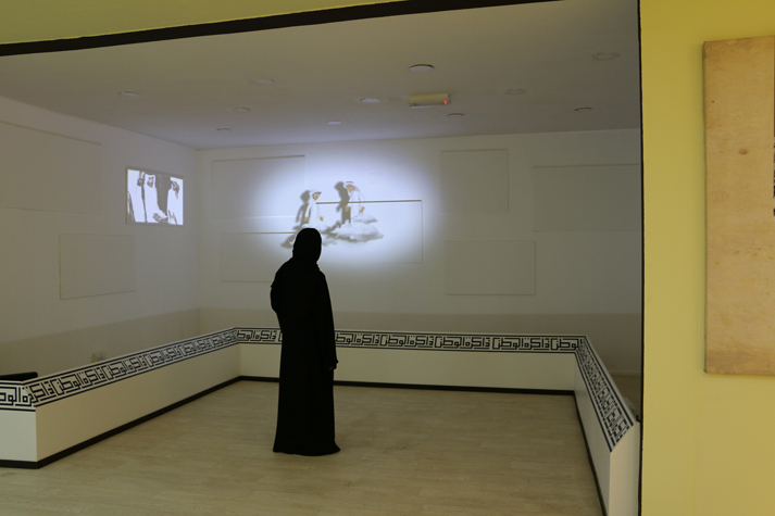 "The National Archives presents the journey of Al Bu Falah to Abu Dhabi At the ""Memory of the Nation"" exhibition in Sheikh Zayed Heritage Festival"