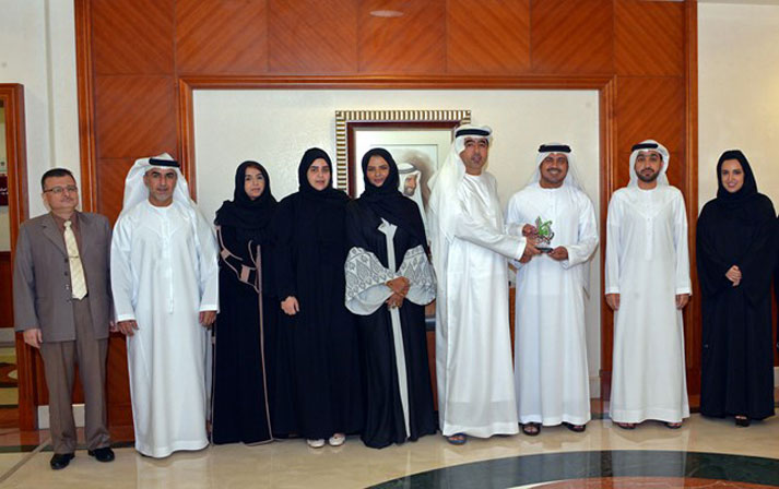 "NA Wins ""Afkar Al Emarat's""   Creativity Award in Media Coverage."